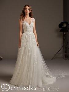 Danielasposa, abito da sposa Pronovias 2020
